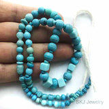 Sky Blue Bohemian Old Glass Trade Beads