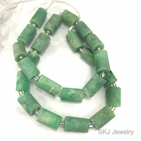 New Green Amazonite Gemstone Beads