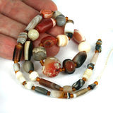 rewored Old World Agate Bead Str.