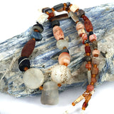 Reworked Old World Agate Beads Strand