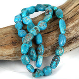 Blue Turquoise Gemstone Beads USA Mined