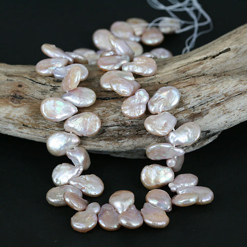 Unique Drop Shape Multi Color Pearl Beads