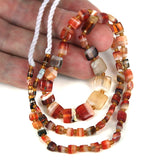 Collectible Very Old Indus Valley Agate Bead Strand