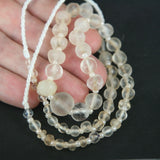 Collectible Very Old Quartz Bead Strand