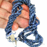 Natural Blue Sapphire Gemstone Beads