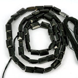 Faceted Black Spinel 6mm Gemstone Beads