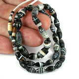 Old Suleiman Agate Strand 4 - 11mm