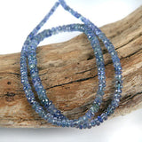 Tanzanite Gemstone Beads 3 - 5mm Rondel