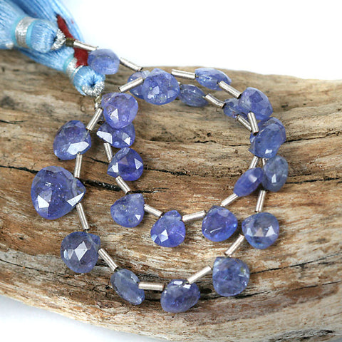 Tanzanite Gemstone Bead Briolette Drop