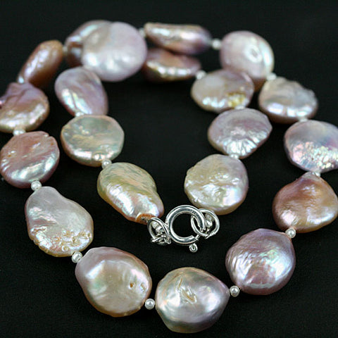 Multi Color Pearl Bead Necklace