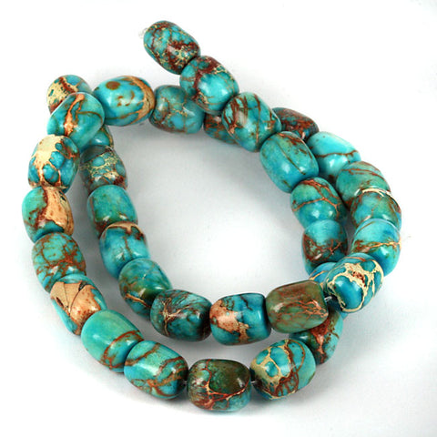 Rare Blue Verasite Gemstone Beads