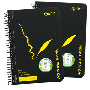 Notebook Quill Q570 210 x 148mm 100 Leaf