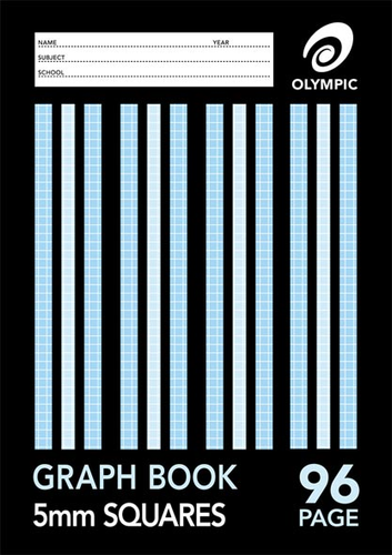 Graph Book A4 96 pages 5mm Grid