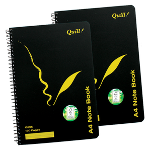 Exercise Book Quill Q595 A4 60 Leaf