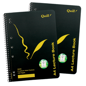 Lecture Book Quill Q906 A4 Side Bound 70 Leaf