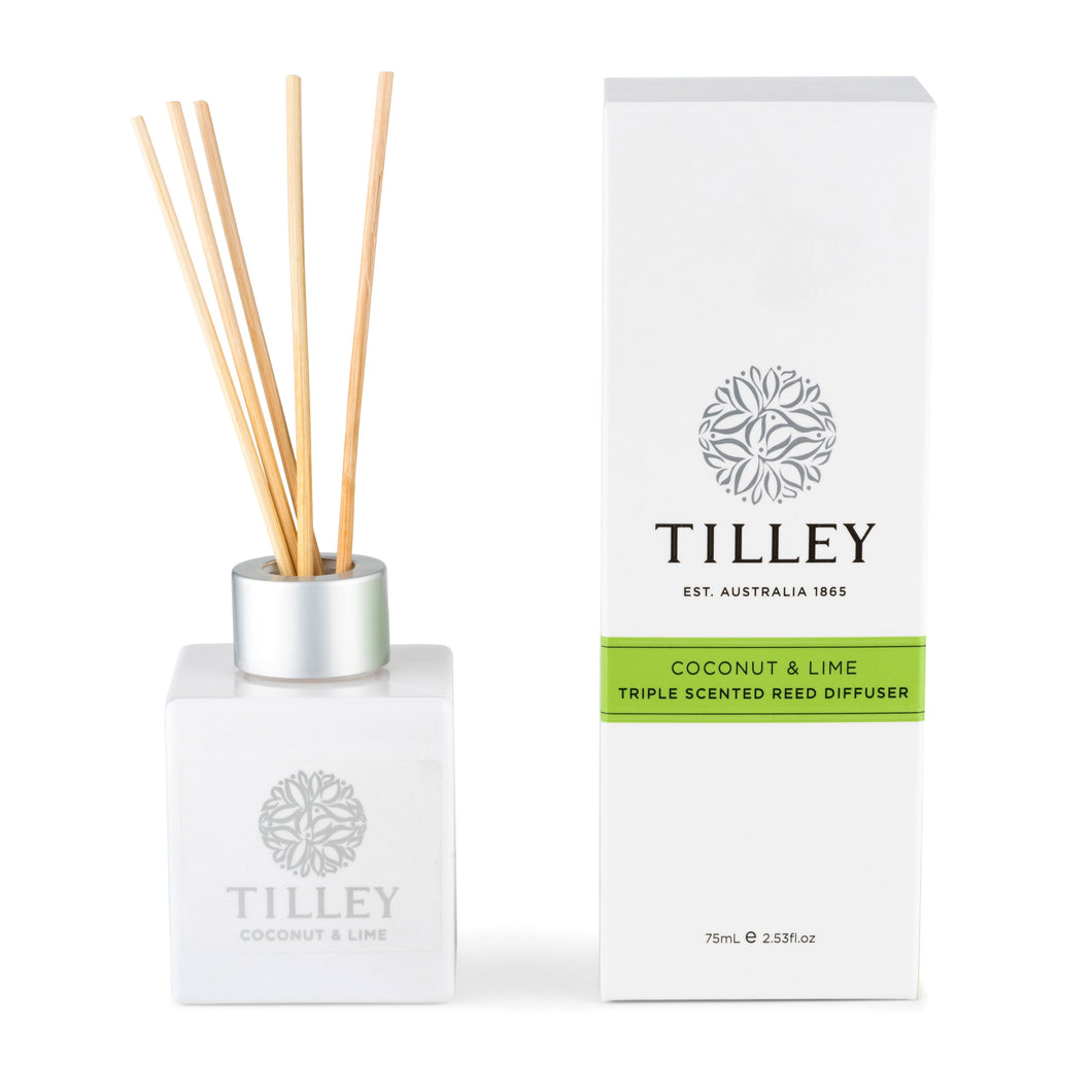 Tilley Aromatic Reed Diffuser - Coconut & Lime 150ml