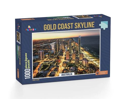 Jigsaw Puzzle 1000 pieces - Gold Coast Skyline
