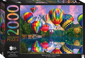 Mindboggler Deluxe Jigsaw Puzzle 2000 pieces - Balloon Festival