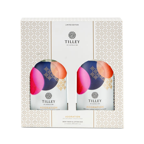 Tilley Hand & Body Wash Combo - Adoration