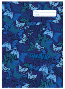 * A4 BOOK COVER - CAMO GAMING 2