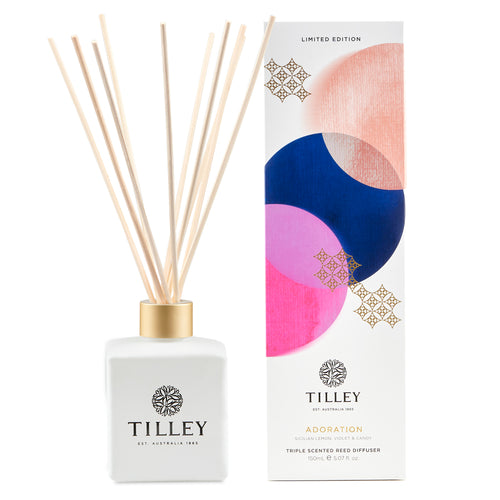 Tilley Aromatic Reed Diffuser - Adoration 150ml