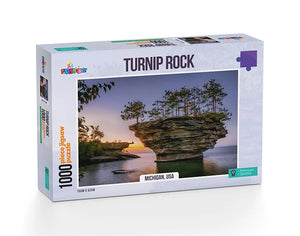 Jigsaw Puzzle 1000 pieces - Turnip Rock