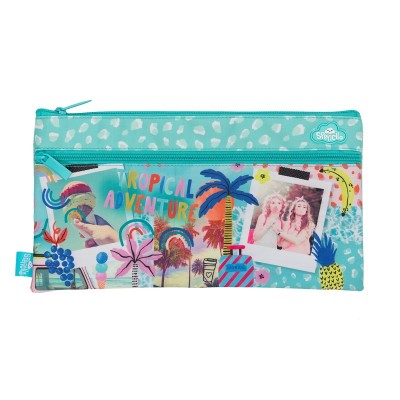 * PENCIL CASE - TROPICAL ADVENTURE