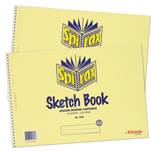 Sketch Book Spirax No.534 210x297mm 40 Page