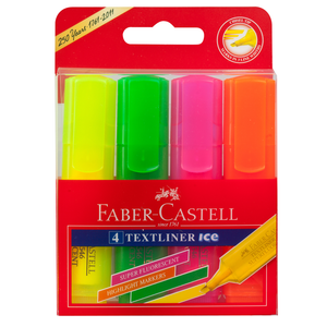 Highlighter Faber Textliner Ice Pack of 4