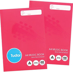 Music Book Tudor A4 48 Page
