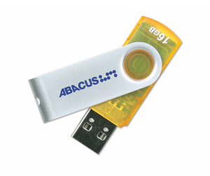 USB Drive 16GB Abacus Rotating