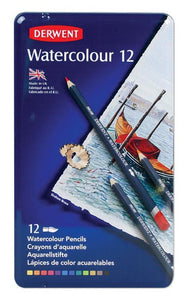 Pencils Derwent Water Colour 12's