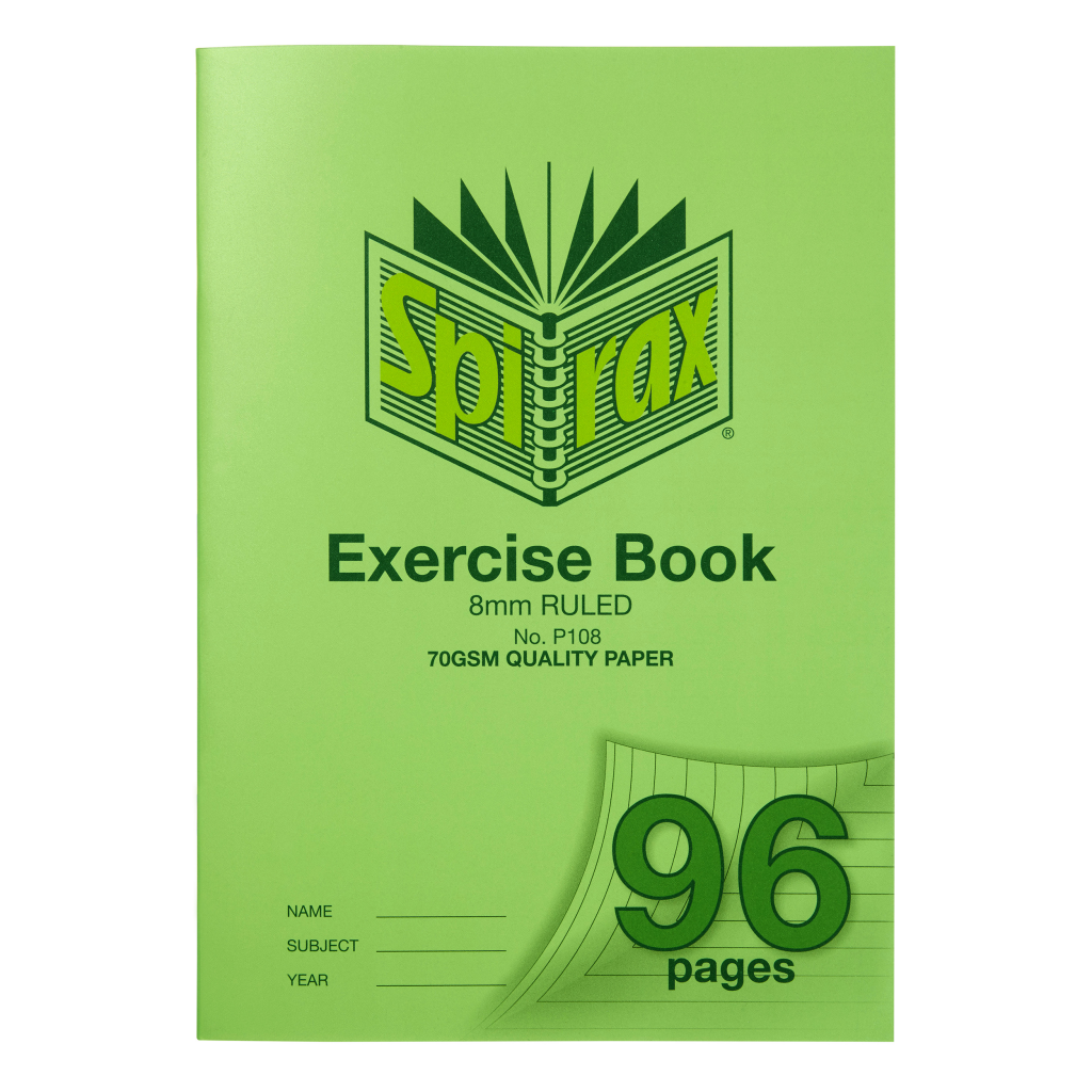 Exercise Book Spriax A4 96 pages