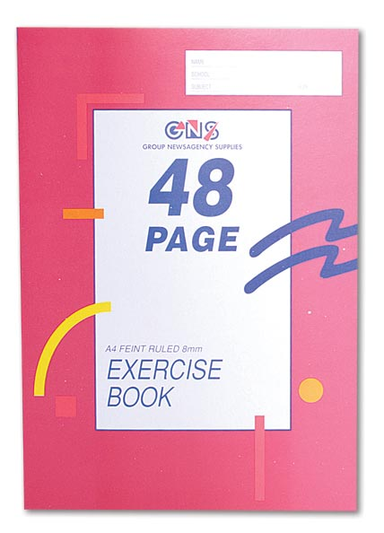 Exercise Book A4 48 pages