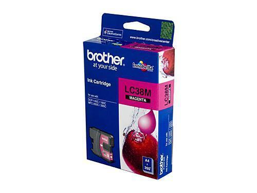 Brother LC38 Magenta Ink