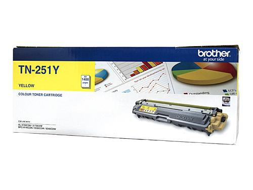 Brother TN-251Y Yellow Toner