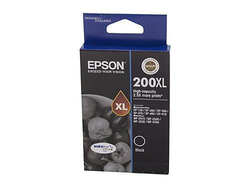 Epson 200 Black XL Ink