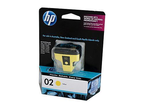 HP 02 Yellow Ink