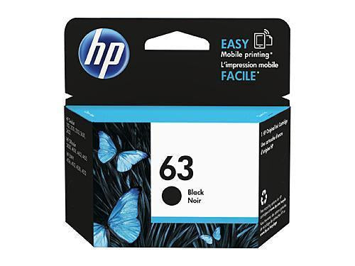 HP 63 Black Ink