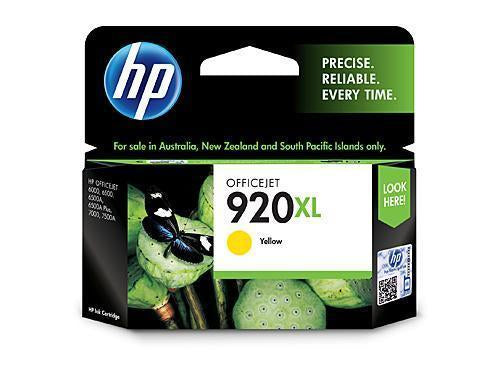 HP 920 XL Yellow Ink
