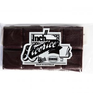 INCH LICORICE BLOCK