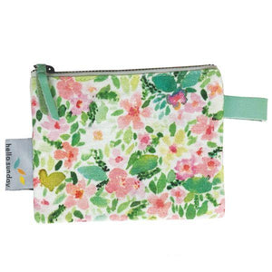 Coin Purse Field of Flowers