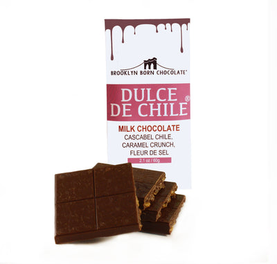 Brooklyn Born Chocolate -  Dulce de Chile Milk Chocolate Bar
