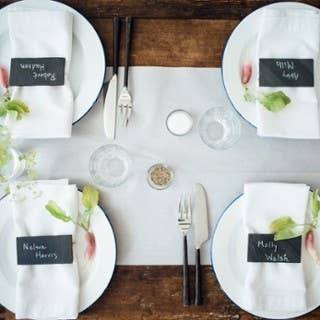 Brooklyn Slate Company - Slate Table Setting Placard