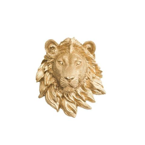 Wall Charmers - The Saharan Mini Lion Head Faux Taxidermy Single Color