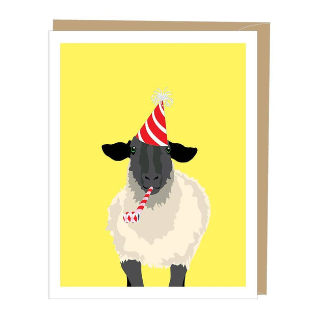 Apartment 2 Cards - Sheep Greeted Birthday Card