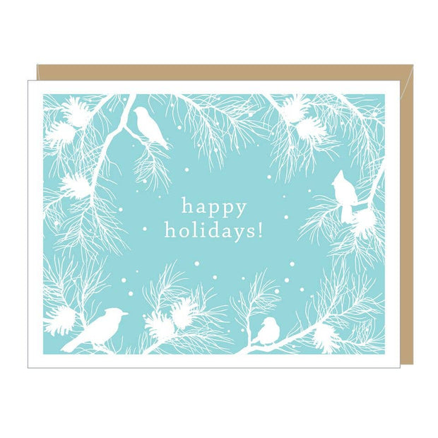 Apartment 2 Cards - Holiday Winter White Greeted Card (single or boxed)
