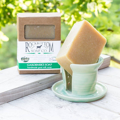 Rock Bottom Soap - Gardener's Goat Milk Soap