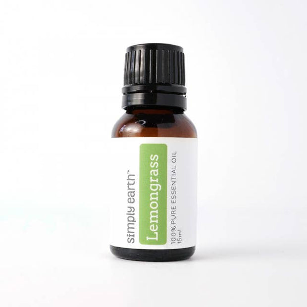 Simply Earth - Lemongrass Essential Oil 15ml