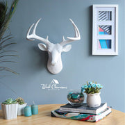 Wall Charmers - The Virginia Mini Deer Head Faux Taxidermy Single Color